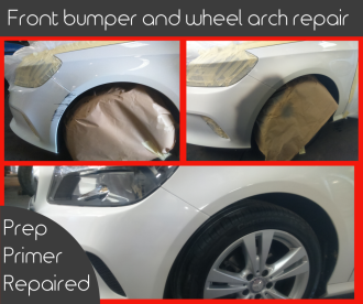 front bumper wheel arch FB picture