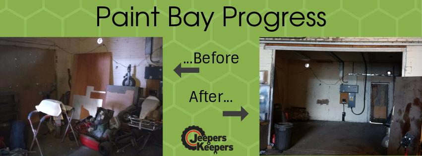 PAint Bay Progress HEader