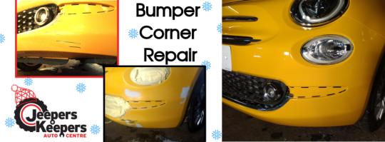 FiatBumper corner repair