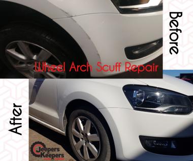 Wheel Arch Scuff Repair